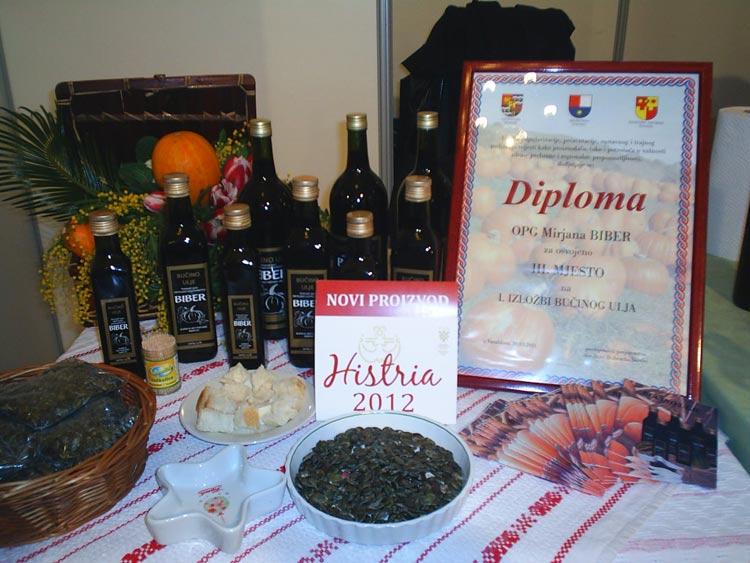 Diploma - bučino ulje - Biber