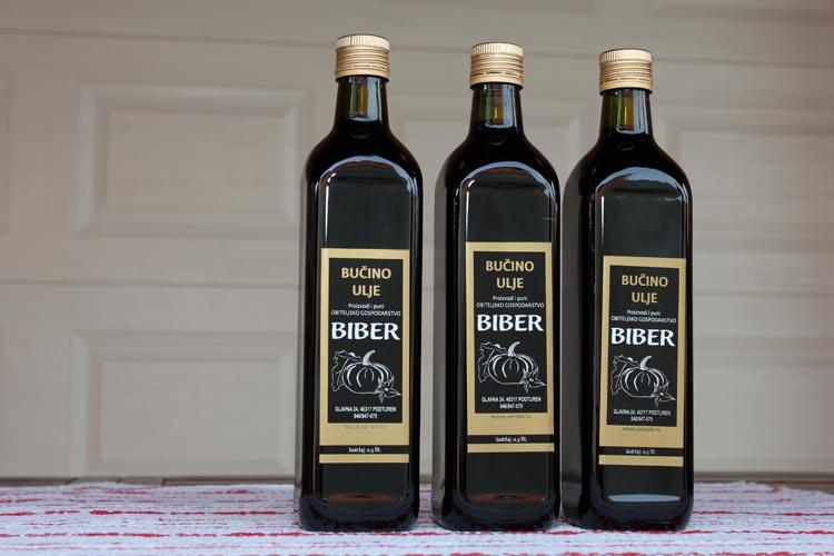 Bučino ulje - Biber